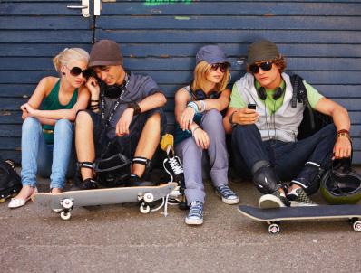 Skatekläder